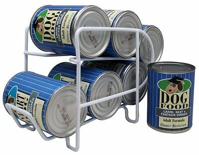 IRIS Wire Can Dispenser for Canned Dog Food Storage, 12-1/2-Ounce, 6 Cans