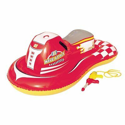 """Splash & Play Wave Attack 55"""" Inflatable Ride-On Pool Toy"""