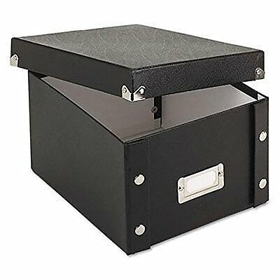 Snap-N-Store Collapsible Index Card File Box, Holds 1100 Cards of 5 x 8 Inc