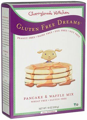 Cherrybrook Kitchen Gluten Free Dreams, Pancake & Waffle Mix, 18-Ounce Boxe