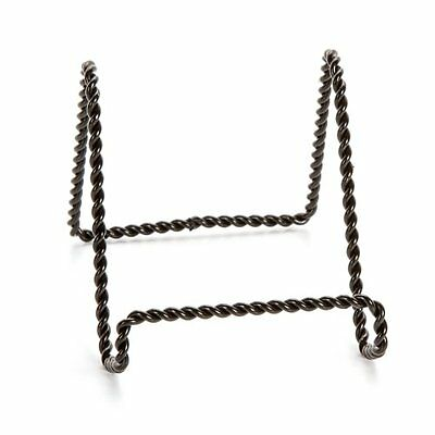 Darice 5202-65 Twisted Wire Easel Stand, 6-Inch, Black