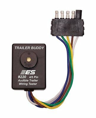 ESI 220 4/5 Pin Flat Trailer Wiring Buddy