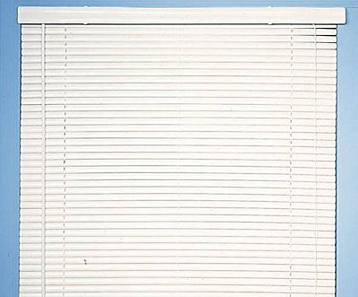 Achim Home Furnishings Morning Star 1-Inch Mini Blinds, 27 by 64-Inch, Whit