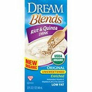 Dream Blends Original Unsweetened Rice and Quinoa Rice Beverages (6x32oz)