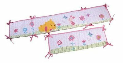 Disney - Winnie the Pooh Sweet as Hunny Baby Bumper Accessory Pink with Pur