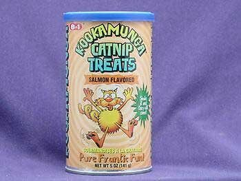8in1 Kookamunga Krunchie Kravings Catnip Treats - Salmon - 5 oz
