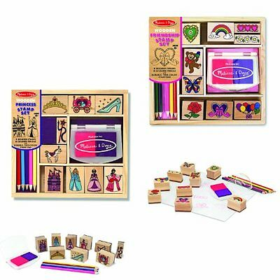Melissa & Doug Stamp Set Bundle
