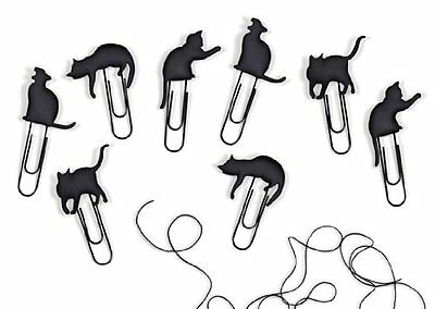 "Catwalk Picture Hanger Clips-Cat Shaped with 36"" Line"