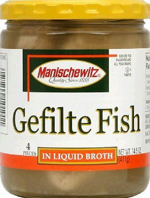 Fish Gefilte Non Jel 14.5 OZ (Pack Of 6)