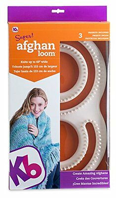 Authentic Knitting Board Afghan Loom