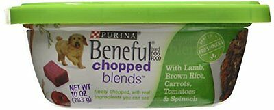 Beneful Wet Dog Food, Chopped Blends, with Lamb Brown Rice Carrots Tomatoes