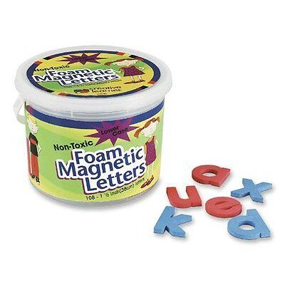 """Pacon - Magnetic Alphabet Letters,Foam, Lower Case, 1-1/2"""", 108 Ct., Sold a"""