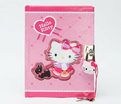 Hello Kitty Black Terrier Collection: Locking Diary
