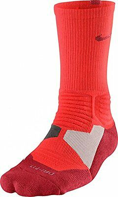 Nike Men's Hyper Elite Basketball Crew Socks (Large, Bright