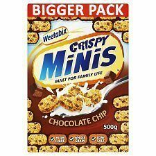 Weetabix Crispy Minis Chocolate Chip (500g)
