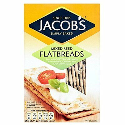 Jacob's Flatbreads - Mixed Seeds (150g)