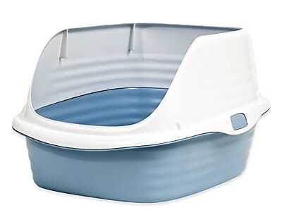 PETMATE 290076 A and H Large Rimmed Pan for Pets