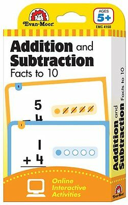 Flashcards: Beginning Addition and Subtraction Facts to 10