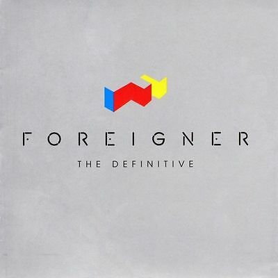 Foreigner The Definitive Cd (Greatest Hits / Very Best Of)