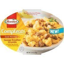Hormel, Compleats, Good Mornings, Sausage Breakfast Scramble, 7.5oz Tray (P