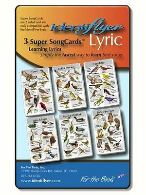 Identiflyer Lyric 2 Super Song Cards