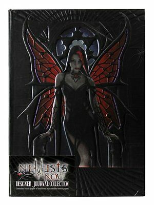 Anne Stokes Gothic Aracnafaria Fairy Embossed Journal