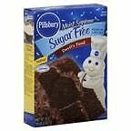 Pillsbury Cake Mix, Sugar Free, Devil's Food 16 oz (Pack of 12)