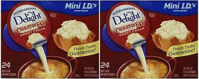 International Delight Mini I.d.'s Cold Stone Sweet Cream 24-7/16 Fl Oz (Pac