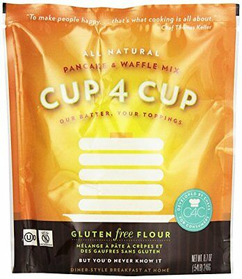 Cup 4 Cup: Gluten-Free Pancake and Waffle Mix, 8.7 oz