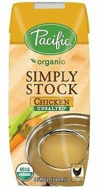 Pacific Foods Stock Unsalted Chkn, 8 Oz