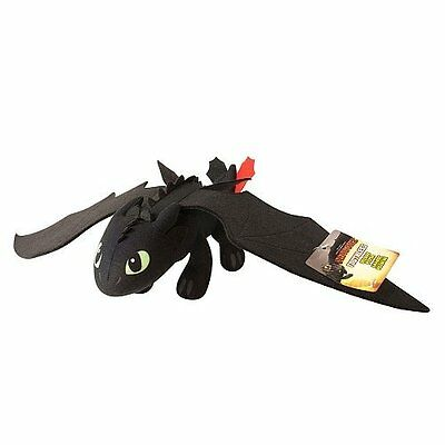 """DreamWorks Dragons: How to Train Your Dragon 2 14"""" Plush Toothless"""