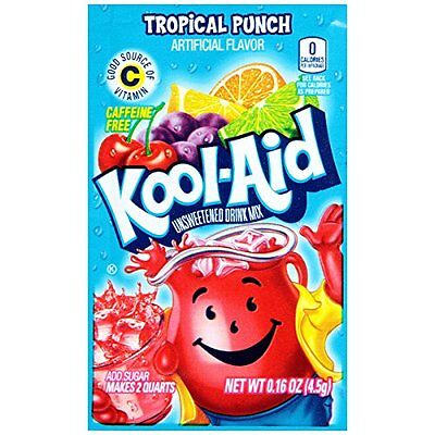Kool-Aid Kool-Aid Tropical Punch Flavor Unsweetened Soft Drink Mix, 0.16 oz
