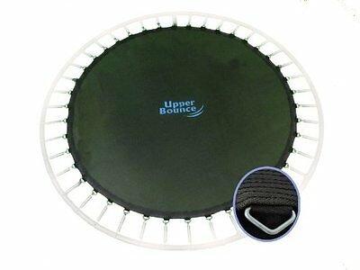Upper Bounce Trampoline Jumping Mat for Round Frames with 84 V-Rings for 5.