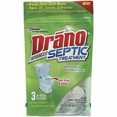 Drano Septic Treatment 1500 Gal.