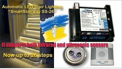 """Automatic LED Stair Lighting  system """"SmartStairway SS-26 """""""