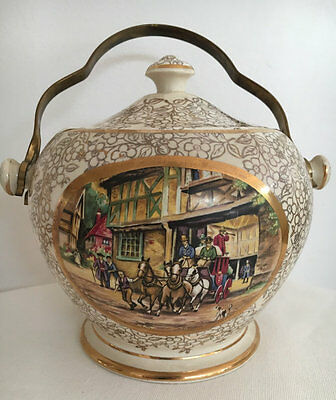 Sadler Biscuit Barrel Old Coach House Bristol C 1940 #1761