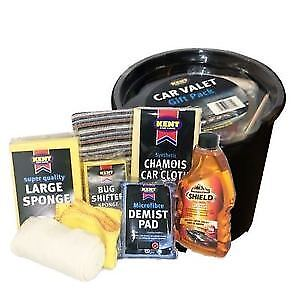 Kent Car Care Cleaning Valet Pack in Bucket - GIFT SET **NEXT DAY DELIVERY**