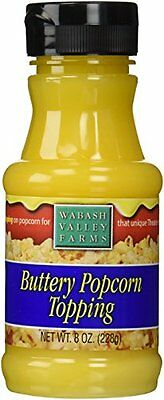 Popcorn Butter Topping - Buttery Flavor 8oz by Wabash Valley Farms