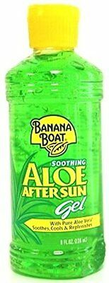 Banana Boat Aloe After Sun Gel 8oz (3 Pack)