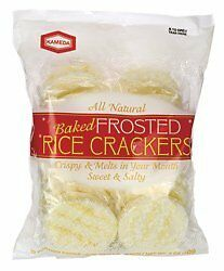 Rice Crackers Frstd 12 P 5 OZ (Pack of 6)
