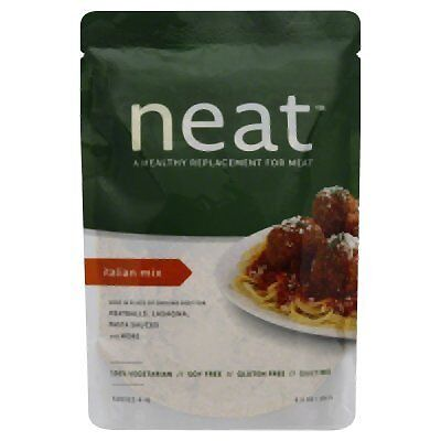 Neat Meat Alternative Italian Dry Mix, 5.5 Ounce -- 6 per case.