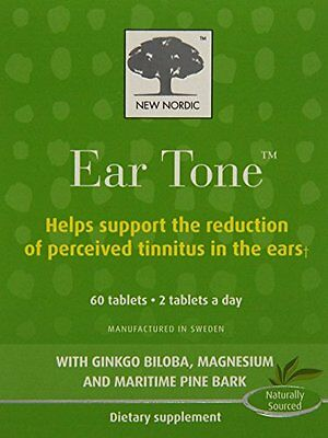 New Nordic Ear Tone Tablets, 60 Count