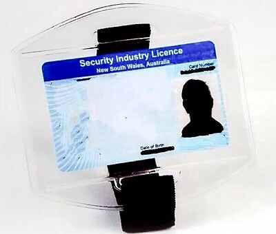 Brand New Security Armband Licence ID Holder (Black) ���� HOT SALE ����