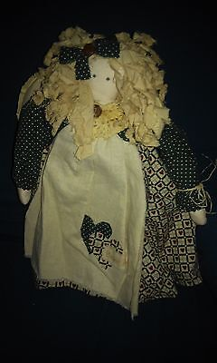 Cloth ANGEL Shabby Chic French Country  Gorgeous!! Near NEW