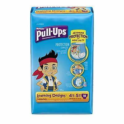 Huggies Pull-Ups Training Pants - Learning Designs - Boys - 4T-5T - 18 ct