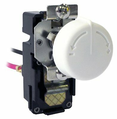 King Electric TKIT-1BW Single-Pole Built In Thermostat Kit, White
