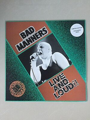 Bad Manners - Live And Loud - Limited Edition Record Lp - Green Vinyl