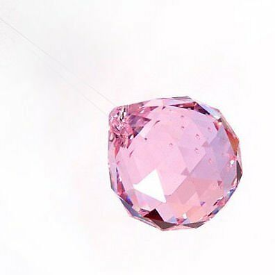 40mm Asfour Crystal Ball Prisms #701-40 (Pink)