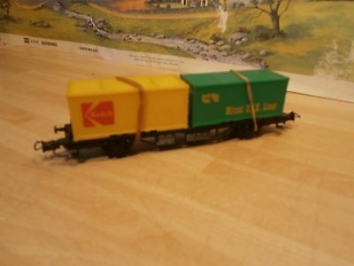Ho/oo Container Wagon With Load