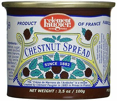 Clement Faugier - Gourmet Chestnut Spread from France 4 mini cans 4x3.5oz